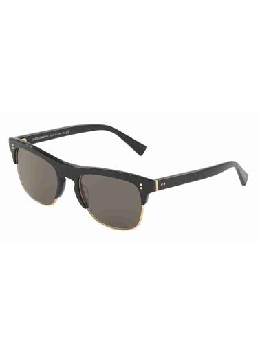 Dolce&Gabbana Dolce&Gabbana 4305 501/R5 53 Kemik Çerçeveli Camlı Sap Uzunluğu 140 Cm Erkek Güneş Gözlüğü Siyah